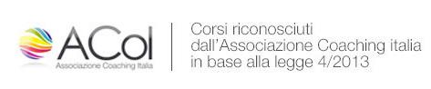 A.Co.I. Corsi Riconosciuti dall'Associazione Coaching Italia